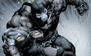 Picture Mask, Muscles, DC Comics, Bane, Bane, Venom, Venom, Mask, Comics, Muscle, Muscles, Supervillain, Supervillain, Brawn