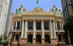 Picture Rio de Janeiro, Brazil., Municipal theatre