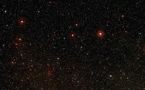 Picture Stars, Constellation Vela, Digitized Sky Survey 2, Wide-field view, HD 85512b, K-type main-sequence star, HD …