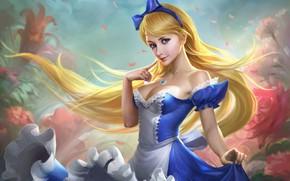 Picture tale, fantasy, art, Princess, li fengyang