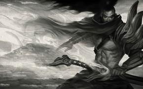 Picture samurai, male, League of Legends, League Of Legends, Yasuo