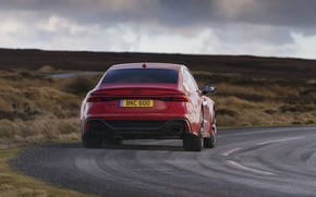 Picture Audi, rear view, RS 7, 2020, UK version, RS7 Sportback