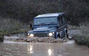 Picture wave, prototype, Land Rover, Defender, 2013, All-terrain Electric Research Vehicle