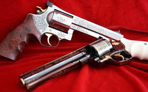 Picture weapons, Custom, gun, Court, weapon, engraving, custom, Revolver, Revolver, Engraving, Korth