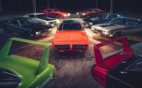 Picture daytona, dodge charger, muscle cars, plymouth superbird