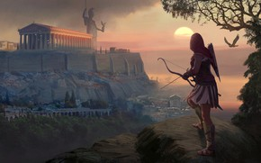 Picture figure, art, Assassins Creed, painting, Ubisoft, 2018, Assassin's Creed Odyssey