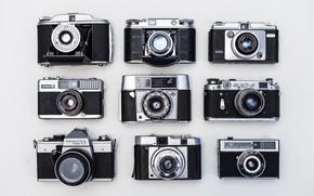 Picture retro, camera, the camera