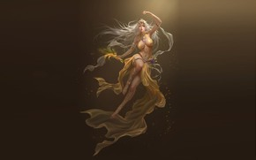 Picture girl, background, beauty, League of Angels