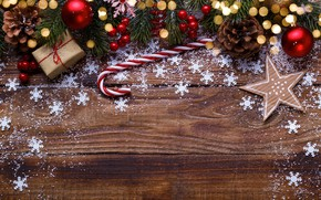 Picture decoration, New Year, Christmas, Christmas, wood, New Year, decoration, Merry