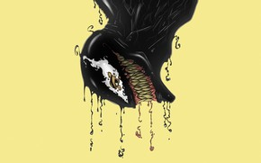 Picture Language, Teeth, Marvel, Venom, Venom, Symbiote, Creatures, by David Oyola, David Oyola
