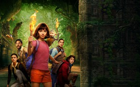 Picture poster, personage, Dora and the Lost City of Gold (2019), Dora and the Lost City …