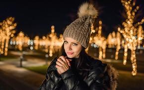 Picture Model, Winter, brunette, A Diakov George