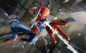 Picture Web, Costume, Fragments, Mask, Superheroes, Marvel, Spider-Man, Insomniac Games, Sony Interactive Entertainment