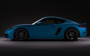 Picture Auto, Porsche, Machine, Car, side view, Sports car, Cayman S, Transport & Vehicles, Porsche 718 …