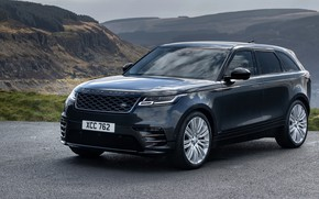 Picture auto, mountains, rock, road, range rover, mountain, asphalt, 2021, crossover premium, velar r dynamic d300 …