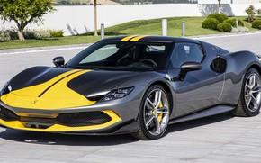 Picture Ferrari, Ferrari, exclusive, luxury, sports car, 2022, Ferrari 296 GTB Assetto Fiorano, 296 GTB