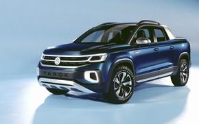 Picture Concept, Volkswagen, pickup, 2019, Tarok