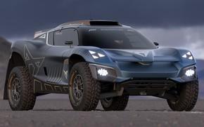 Picture Cupra, 2021, Cupra Tavascan Extreme E Concept, Racing SUV, Extreme E Championship