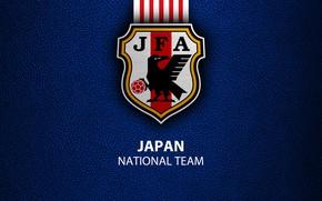 Picture wallpaper, sport, Japan, logo, football, National team