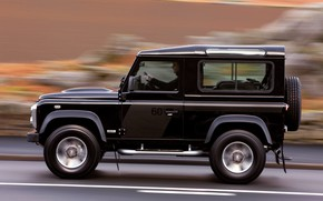 Picture 2008, Land Rover, side view, Defender, SVX, 60th Anniversary Edition