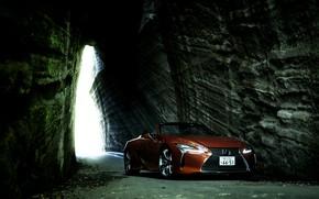 Picture rock, Lexus, convertible, 2021, LC 500 Convertible
