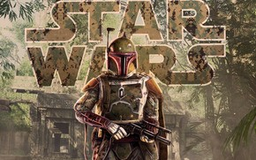 Picture Star Wars, fanart, Concept Art, Boba Fett, Characters, by Pablo Olivera, Paul Olivera, Star Wars …