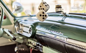 Picture Car, Chevy, Old, Vintage, Interior, Instrumentation