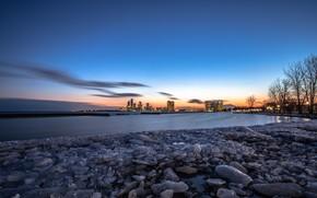 Picture Ontario, Lake, Long Exposure