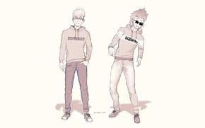 Picture guys, My Hero Academia, Boku No Hero Academy, My Hero Academy, Bakuga Katsuki, Kirishima, Eijiro