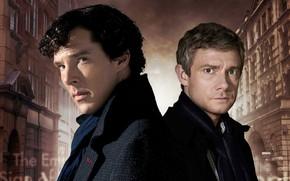 Picture the city, friends, Martin Freeman, Benedict Cumberbatch, Sherlock, Sherlock BBC, Sherlock Holmes, John Watson, Sherlock …