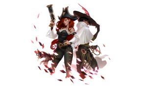 Picture girls, Miss Fortune, Legends of Runeterra