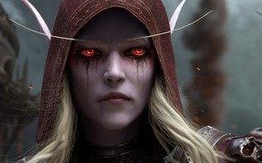Picture Blizzard Entertainment, Sylvanas Windrunner, World Of Warcraft, Sylvanas Windrunner, The battle for Azeroth, Lady Banshee