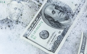 Picture ice, dollars, cold