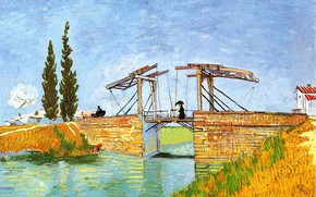 Picture Vincent van Gogh, Bridge at Arles 2, The Langlois