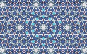 Picture pattern, geometry, islamic pattern