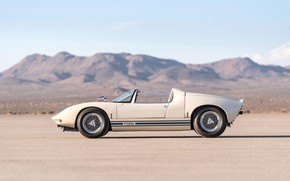 Picture Roadster, side view, 1965, Ford GT40, Prototype (GT108)