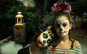 Picture Dark, Makeup, Dziewcztnki