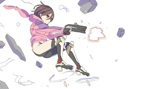 Picture Girl, Anime, Art
