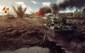 Picture world of tanks, tank, glare arts, Type 64