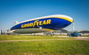 Picture airship, goodyear, zeppelin