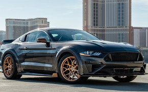 Picture Mustang, Ford, 2018, Mustang GT, SEMA 2018, CJ Pony Parts