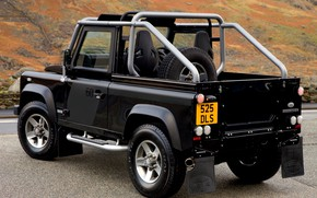 Picture 2008, back, Land Rover, Defender, SVX, 60th Anniversary Edition