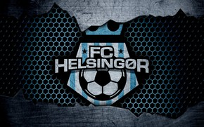 Picture wallpaper, sport, logo, football, Helsingor