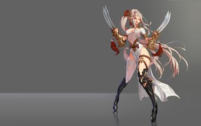 Picture the game, anime, fantasy, art, assassin, character, B B