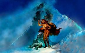 Picture Mountains, Red Sonja, Red Sonja, Boris Vallejo, Boris Vallejo, Бронебикини