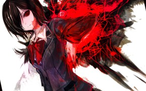 Picture look, girl, monster, Gul, Tokyo Ghoul, Tokyo ghoul, The Kaneko Ken, Current