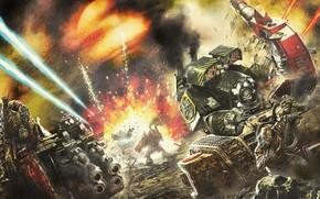 Picture Warhammer, Warhammer 40 000, Iron Warriors, The Iron Warriors