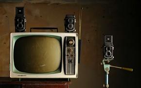Picture background, TV, camera