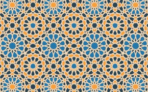 Picture texture, geometry, islamic pattern