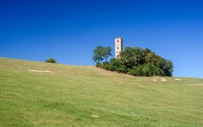 Picture the sky, hill, Italy, церковь святых Назария и Цельсия, Монтекьяро-д'Асти